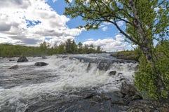 Ποταμός βουνών Gol Στοκ εικόνα με δικαίωμα ελεύθερης χρήσης
