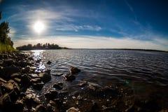 ποταμός Βόλγας Στοκ εικόνα με δικαίωμα ελεύθερης χρήσης