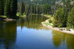 ποταμός βόρειου payette 2 δικράνων Στοκ εικόνες με δικαίωμα ελεύθερης χρήσης