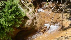 Ποταμός - γαλλικό riviera απόθεμα βίντεο
