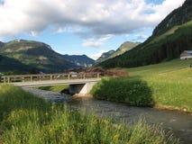 ποταμός γεφυρών στοκ φωτογραφίες