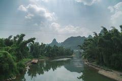 Ποταμός λι στην Κίνα Στοκ φωτογραφία με δικαίωμα ελεύθερης χρήσης