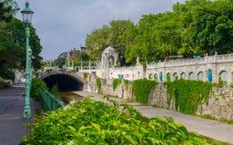 Ποταμός κήπων της Βιέννης Στοκ εικόνα με δικαίωμα ελεύθερης χρήσης