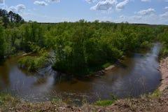 ποταμός κίτρινος στοκ εικόνες