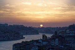 Ποταμός και Πόρτο Douro Στοκ Εικόνες