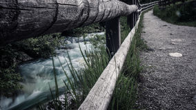 Ποταμός καταρρακτών Στοκ Εικόνα