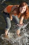 ποταμός κοριτσιών στοκ φωτογραφίες με δικαίωμα ελεύθερης χρήσης
