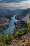 Ποταμός Κροατία Zrmanja Στοκ Φωτογραφία
