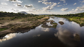 Ποταμός κροκοδείλων Στοκ φωτογραφία με δικαίωμα ελεύθερης χρήσης