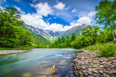 Ποταμός κρυστάλλου Στοκ εικόνες με δικαίωμα ελεύθερης χρήσης