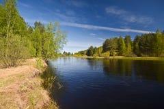 ποταμός κωπηλασίας σε κ&alph Στοκ φωτογραφίες με δικαίωμα ελεύθερης χρήσης