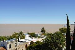 Ποταμός Λα Plata - Ουρουγουάη Στοκ φωτογραφία με δικαίωμα ελεύθερης χρήσης