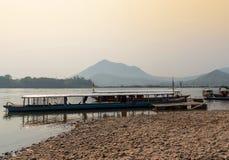 Ποταμός Μεκόνγκ της Ταϊλάνδης Στοκ Εικόνες