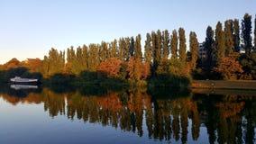 Ποταμός Μοζέλλα Στοκ Εικόνες