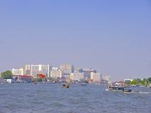 Ποταμός Μπανγκόκ Phraya Chao Στοκ φωτογραφία με δικαίωμα ελεύθερης χρήσης