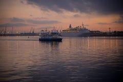 Ποταμός νύχτας Στοκ φωτογραφία με δικαίωμα ελεύθερης χρήσης