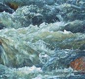 Ποταμός ορμητικά σημείων ποταμού Whitewater Στοκ Φωτογραφία