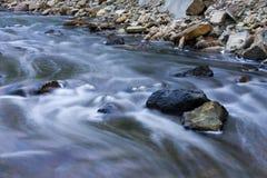 ποταμός ορμητικά σημείων π&omicr Στοκ εικόνα με δικαίωμα ελεύθερης χρήσης