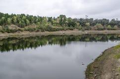 ποταμός Ουκρανία περιοχών πανοράματος dnipro kyiv Στοκ εικόνα με δικαίωμα ελεύθερης χρήσης