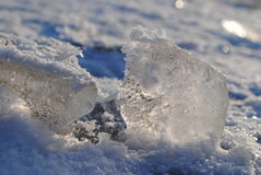 Ποταμός πάγου Στοκ εικόνες με δικαίωμα ελεύθερης χρήσης
