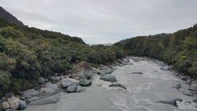 Ποταμός παγετώνων αλεπούδων Στοκ εικόνα με δικαίωμα ελεύθερης χρήσης
