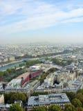 Ποταμός Παρίσι του Σηκουάνα Στοκ Φωτογραφία