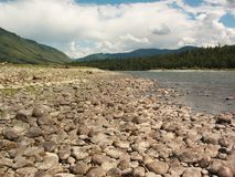 ποταμός πετρώδης Στοκ φωτογραφία με δικαίωμα ελεύθερης χρήσης
