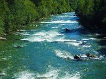 Ποταμός πομπών Στοκ φωτογραφία με δικαίωμα ελεύθερης χρήσης