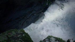 Ποταμός που μέσω του φαραγγιού απόθεμα βίντεο