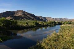 Ποταμός Πολιτεία του Όρεγκον ΗΠΑ Βόρεια Αμερική ημέρας του John Στοκ εικόνες με δικαίωμα ελεύθερης χρήσης