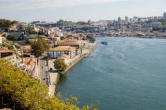 Ποταμός, Πόρτο και Gaia Douro στοκ φωτογραφία με δικαίωμα ελεύθερης χρήσης