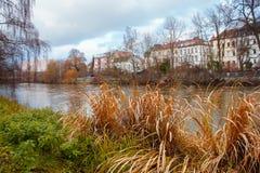Ποταμός πόλεων Στοκ Εικόνες