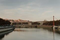 ποταμός Ροδανού Στοκ φωτογραφία με δικαίωμα ελεύθερης χρήσης