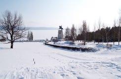 ποταμός Ρωσία Βόλγας Στοκ Εικόνα