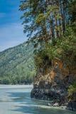 ποταμός Ρωσία Σιβηρία περιοχών altai katun Στοκ εικόνες με δικαίωμα ελεύθερης χρήσης