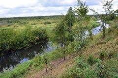 ποταμός Ρωσία Στοκ φωτογραφία με δικαίωμα ελεύθερης χρήσης
