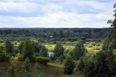 ποταμός Ρωσία Στοκ Εικόνες