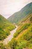 Ποταμός σε μια κοιλάδα στο Περού Στοκ εικόνα με δικαίωμα ελεύθερης χρήσης