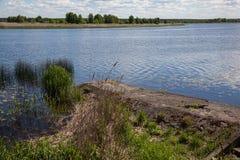 Ποταμός σε Jurmala στοκ εικόνες