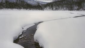 Ποταμός σε ural στοκ εικόνες