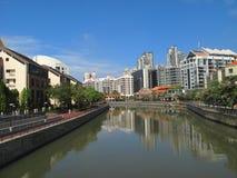 ποταμός Σινγκαπούρη Στοκ φωτογραφία με δικαίωμα ελεύθερης χρήσης
