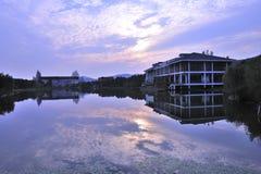 ποταμός σπιτιών Στοκ Εικόνες