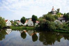 ποταμός σπιτιών Στοκ φωτογραφία με δικαίωμα ελεύθερης χρήσης