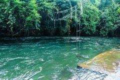 ποταμός στην κεντρική Ταϊλάνδη Στοκ φωτογραφία με δικαίωμα ελεύθερης χρήσης