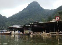 Ποταμός στην παγόδα αρώματος στο Ανόι, Βιετνάμ, Ασία Στοκ Εικόνες