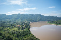 Ποταμός στην Ταϊλάνδη Στοκ Εικόνες