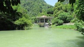 Ποταμός στη Γεωργία στοκ εικόνα