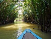 Ποταμός στη ζούγκλα, Βιετνάμ Στοκ Εικόνες