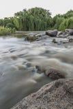 Ποταμός στη Νότια Αφρική Στοκ Εικόνες