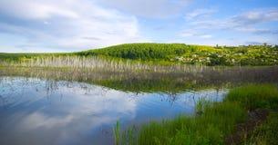 Ποταμός στη Σιβηρία Στοκ φωτογραφία με δικαίωμα ελεύθερης χρήσης